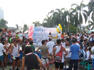 Run To Bring Hope - Awarding