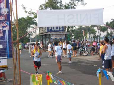 Run To Bring Hope - Finish