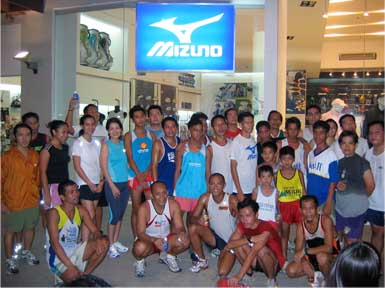 Mizuno Run Club 1