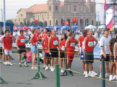 Run For Love Finish Line