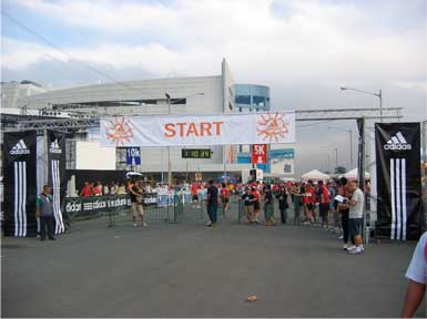 Run For Love Start
